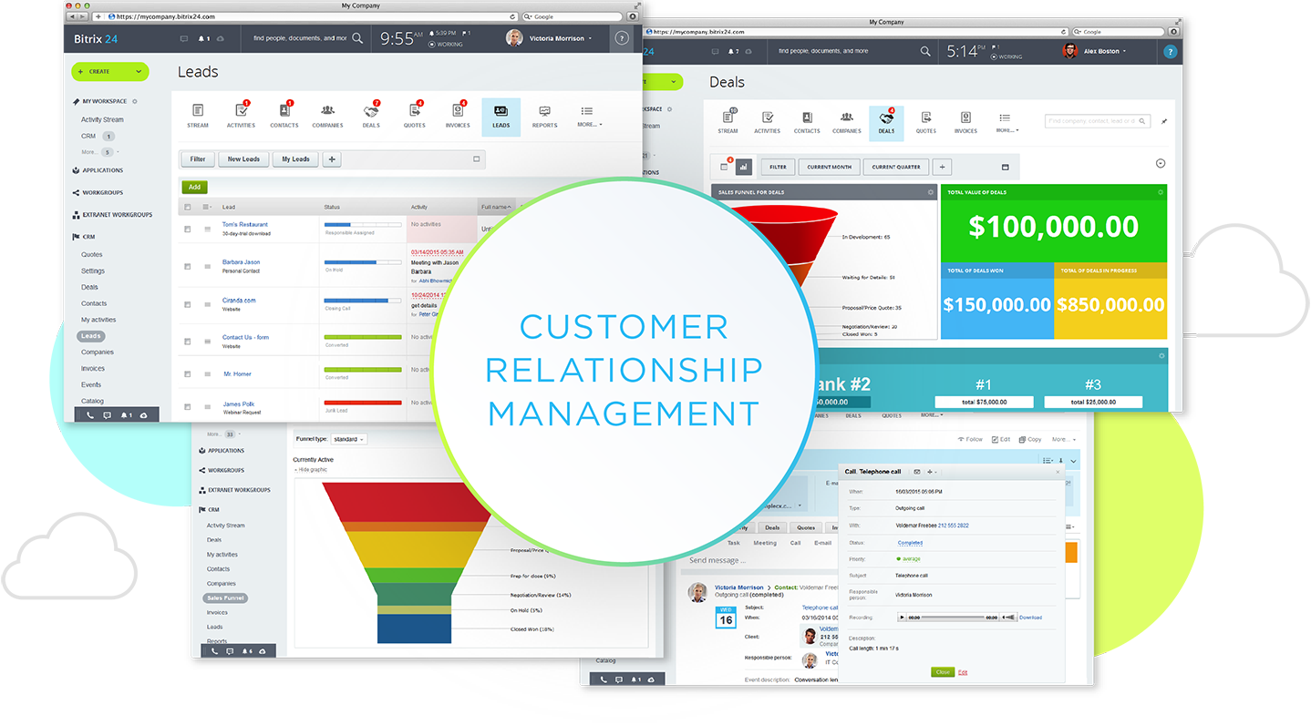 Customer Relationship Management Bitrix